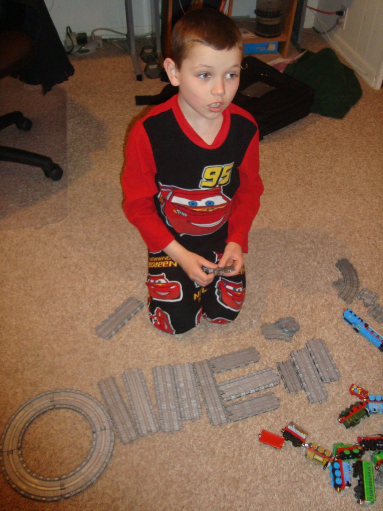 Alphabet tracks