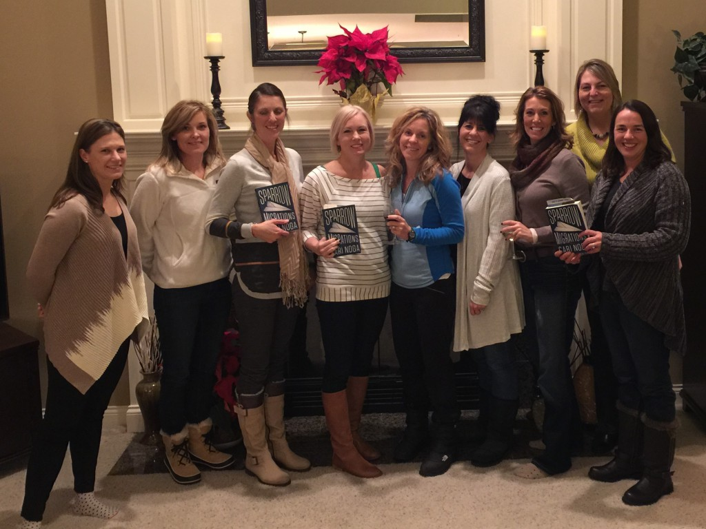 Kicking off a new year of book clubs with the lovely ladies of Loveland, Ohio. January, 2016
